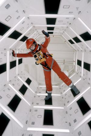 """Actor Keir Dullea Wearing Space Suit in Scene from Motion Picture """"2001: a Space Odyssey"""", 1968 by Dmitri Kessel"""