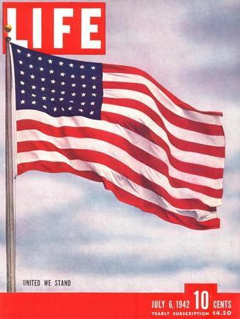 American Flag, July 6, 1942