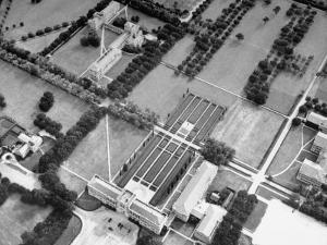 An Aerial View of Rice Institute by Dmitri Kessel
