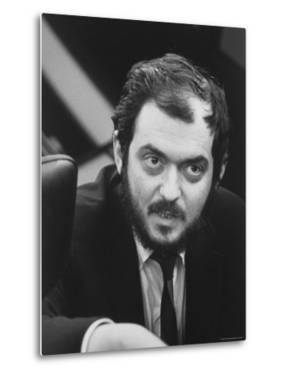 """Director, Stanley Kubrick, During Filming of His Movie """"2001: A Space Odyssey"""" by Dmitri Kessel"""