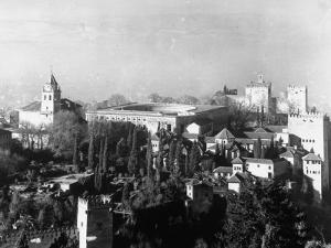 Exterior of Alhambra Palace by Dmitri Kessel