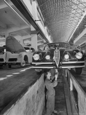 New Supersport Alfa Romeo Cars by Dmitri Kessel