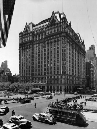 Overall View of the Plaza Hotel by Dmitri Kessel