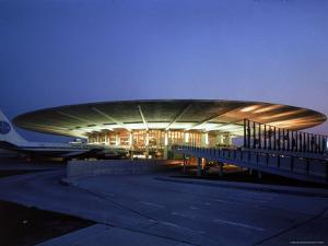 Pan American Air Lines Terminal at NY International Airport by Dmitri Kessel