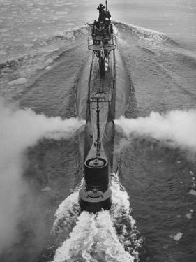 Submarine Roaring Through the Ocean by Dmitri Kessel