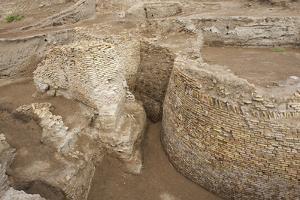 Ruins of Otrar (Utrar or Farab), Kazakhstan. by Dmitry Chulov
