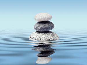 Zen Stones Balance Concept by Dmitry Rukhlenko