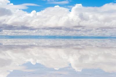 Lake Salar De Uyuni with Thin Layer of Water by DmitryBurlakov