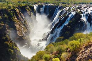 Ruacana Falls, Border of Angola and Namibia by DmitryP