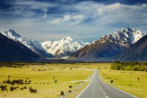 Southern Alps, New Zealand by DmitryP
