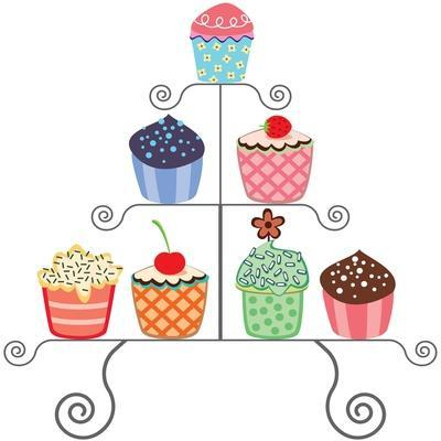 Cupcakes On A Stand