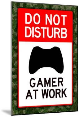 Do Not Disturb Gamer at Work