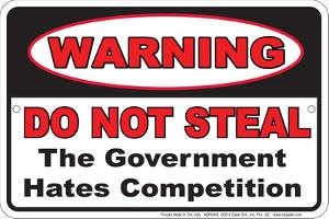 Do Not Steal - Government