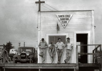 Waiting for a Swell, 1940 by Doc Ball
