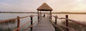 Dock and Lake, Villa Arqueologica, Coba, Quintana Roo, Mexico