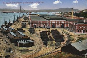 Dockyard Workshops and Waterfront, Gibraltar, 20th Century