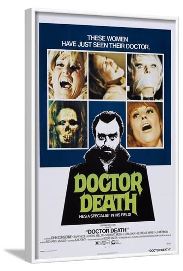 Doctor Death--Framed Art Print