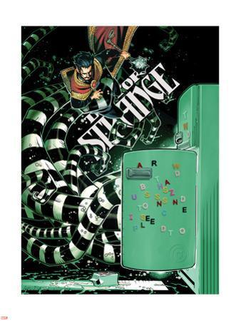 Doctor Strange #2 Cover Art