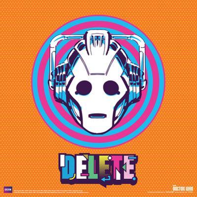 Doctor Who- Cyberman Delete