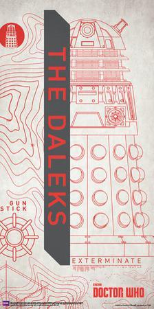 Doctor Who- Dalek Outline
