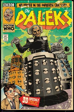 Doctor Who- Davros Daleks Invasion Comic