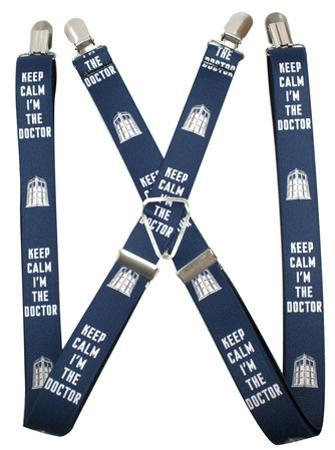 Doctor Who - Keep Calm I'm the Doctor 2 Suspenders