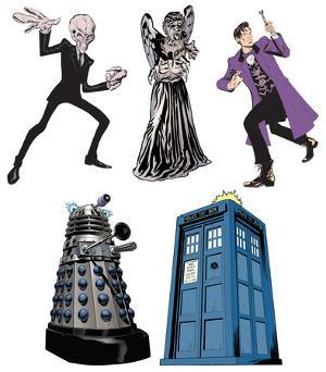 Doctor Who - Mini Comic Standups Package