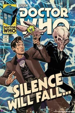 Doctor Who-Silence Will Fall Comic Cover