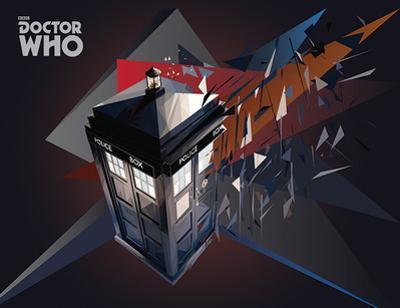 Doctor Who - TARDIS Geometric