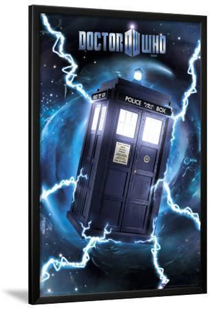 Doctor Who-Tardis- Metallic Poster