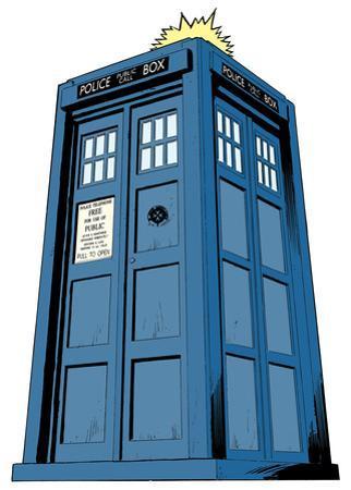 Doctor Who - Tardis Mini Comic Standup
