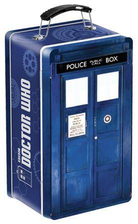 Doctor Who TARDIS Shaped Tin Lunch Box