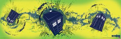 Doctor Who - Tardis Taking Off