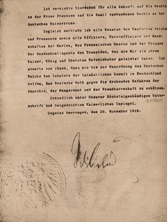 https://imgc.allpostersimages.com/img/posters/document-confirming-the-abdication-of-kaiser-wilhel-ii-of-germany-9-november-1918-1935_u-L-Q1EF8W90.jpg?artPerspective=n