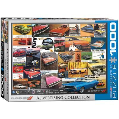 Dodge Advertising Collection 1000 Piece Puzzle