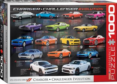 Dodge Charger Challenger Evolution 1000 Piece Puzzle