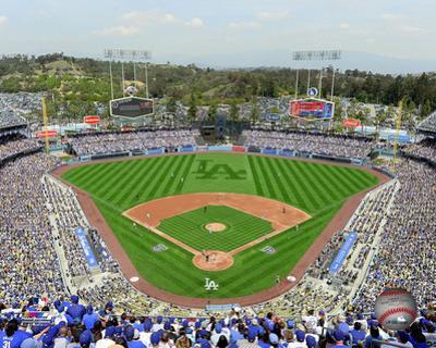 Dodger Stadium 2014