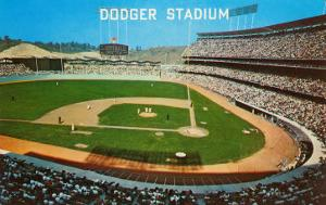 Dodger Stadum, Los Angeles, California