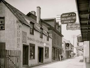 Dodges Old Curiosity Shop, St. George Street, St. Augustine, Fla.