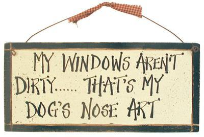 Dog Art Wood Sign