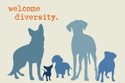Diversity - Blue Version by Dog is Good