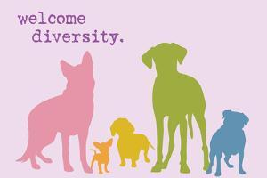 Diversity - Rainbow Version by Dog is Good