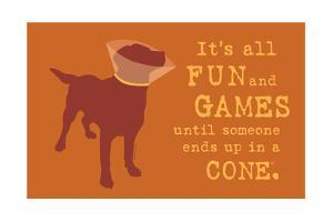 Fun And Games - Orange Version by Dog is Good