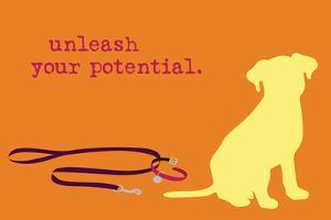Unleash - Orange Version by Dog is Good