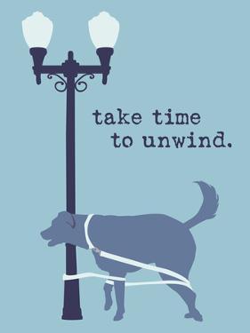 Unwind - Blue Version by Dog is Good