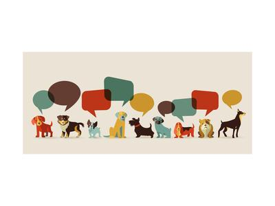 https://imgc.allpostersimages.com/img/posters/dogs-with-speech-bubbles-vector-set-of-icons-and-illustrations_u-L-PQJ3SA0.jpg?p=0