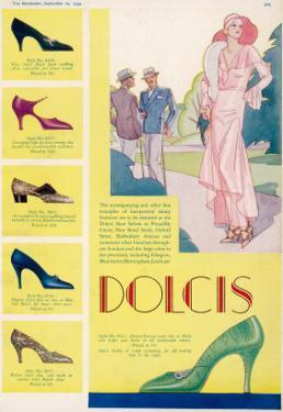 Dolcis Shoes Advertisement