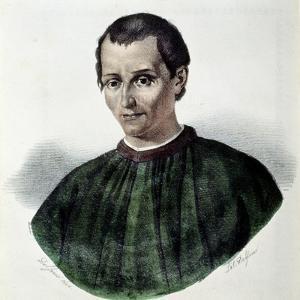 Portrait of Niccolo Machiavelli by Dolfino