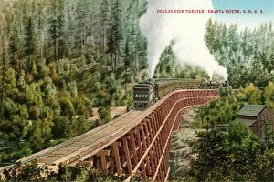 Dollarhide Trestle and Train