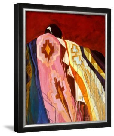 Many Colored Blanket by Dolona Roberts